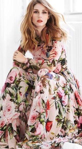 trend-moda-stil-çiçekli-elbise