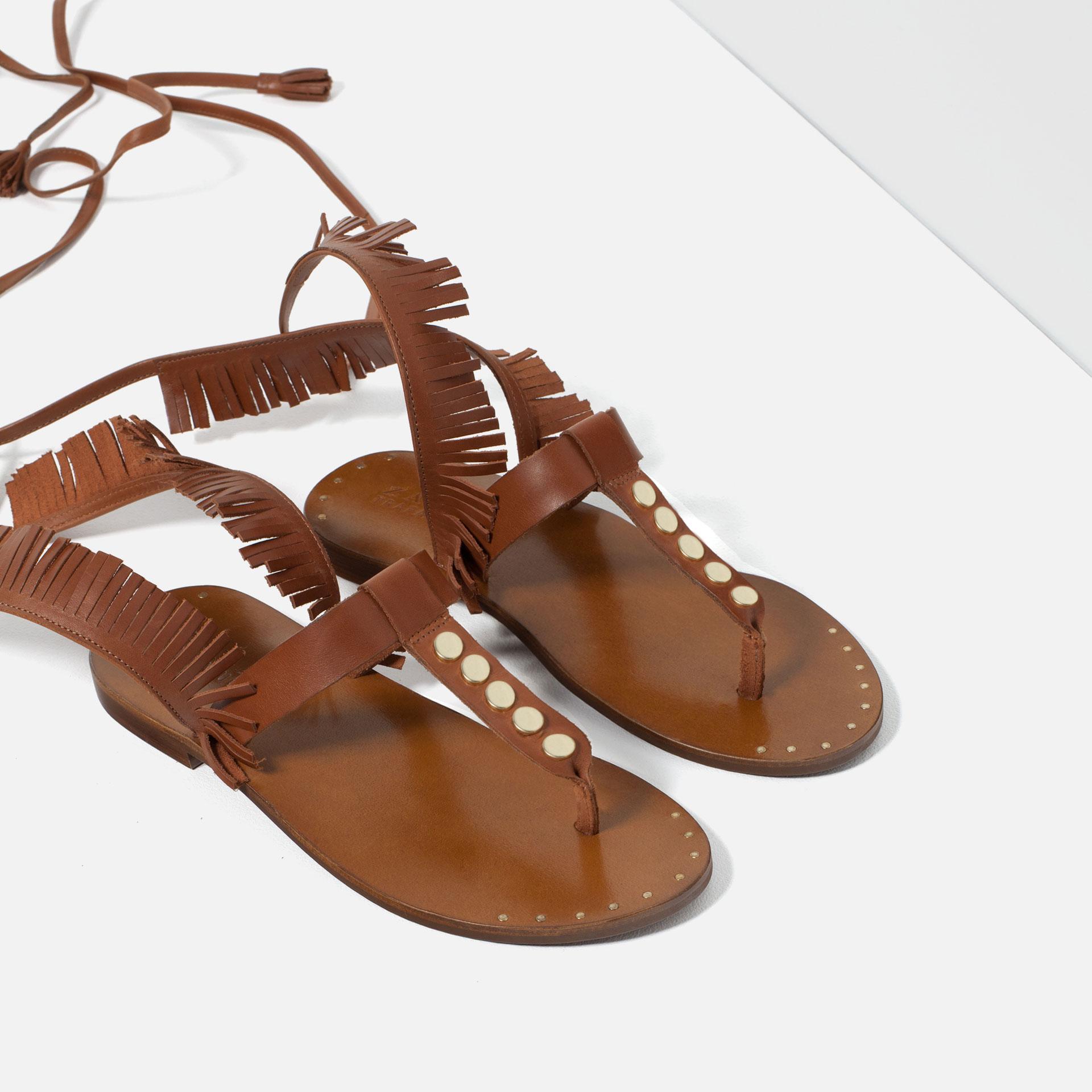 6 Farklı Tarz ile Sandaletler bohem
