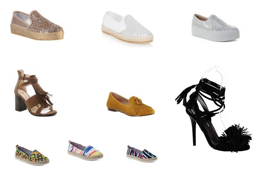 2016 Yazında Trend Ayakkabı Modelleri