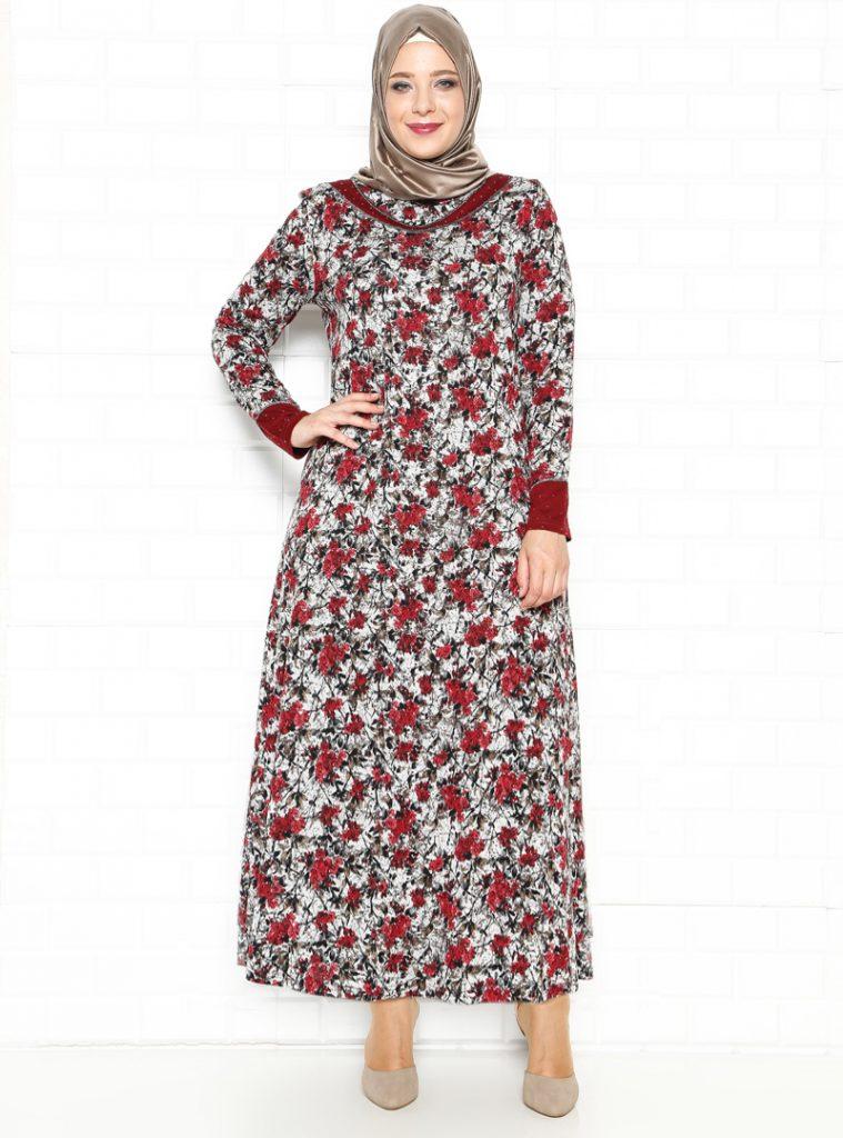 desenli-elbise--bordo--kado-216679-216679-1