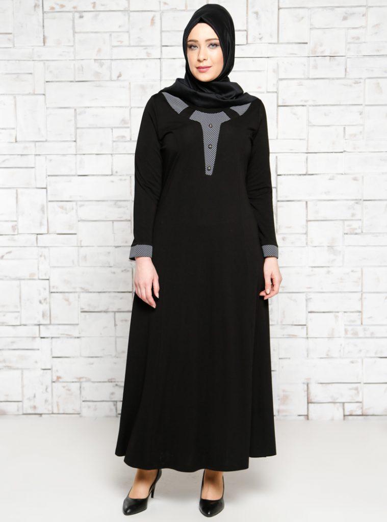 dugme-detayli-elbise--siyah--metex-179815-1