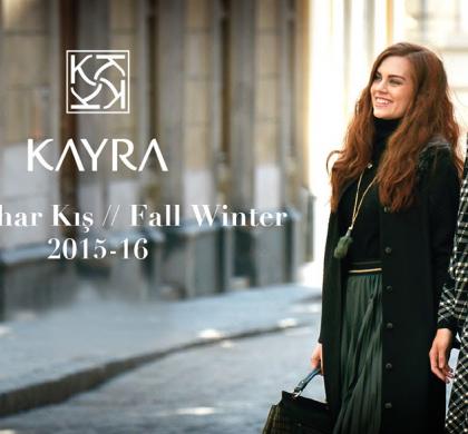 2015'16 Kayra Sonbahar/Kış Koleksiyonu