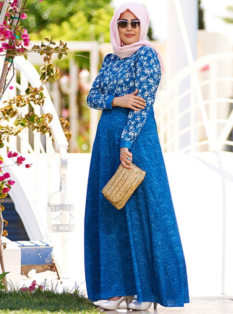 keten-dokulu-cicekli-elbise--mavi--nesrin-emniyetli-212121-2