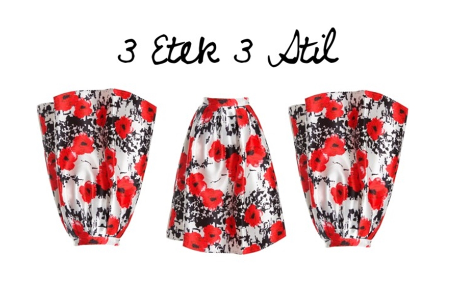 3 Etek 3 Stil