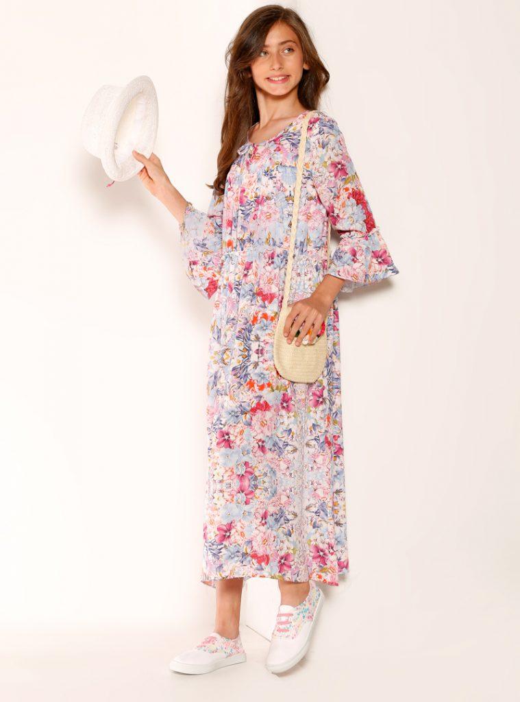 cocuk-firfirli-elbise-ekru-refka-princess-212820-1