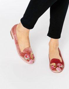 kadife-loafer