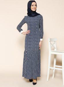 kareli-elbise--siyah--puane-208961-1