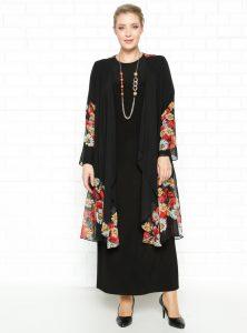 sifon-ceket--elbise-takim--siyah--hede-224238-1