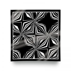 siyah beyaz eşarp