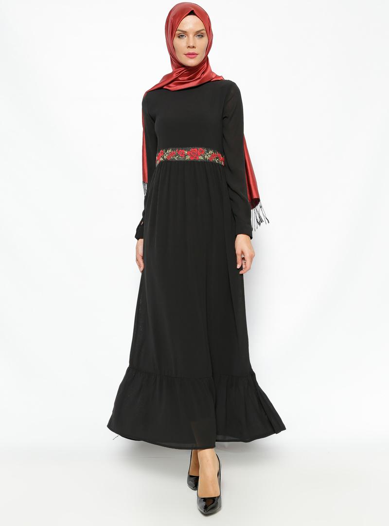 firfir-detayli-elbise-siyah-modesty-235756-1