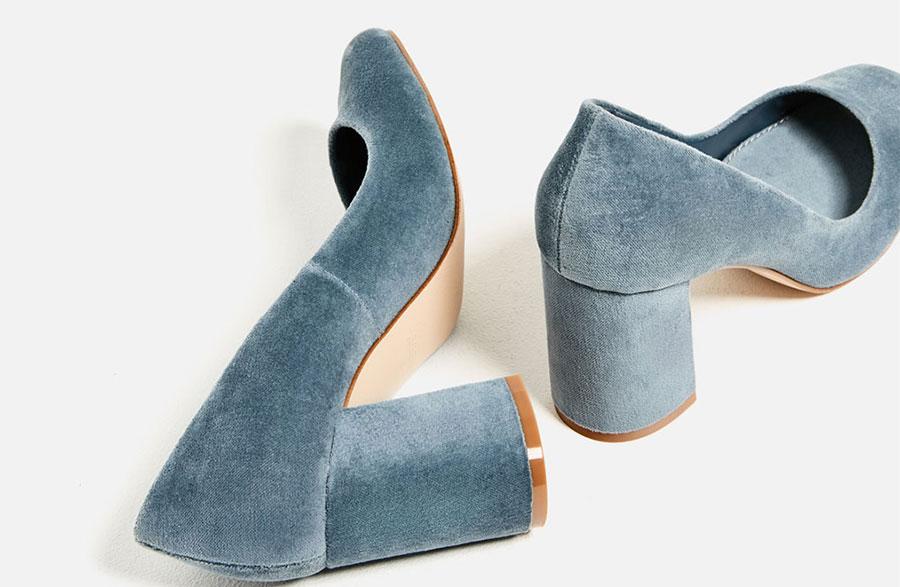 Son Moda Kadife Ayakkabılar