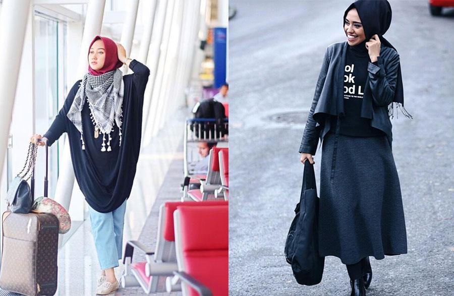 Tesettür Giyim Sokak Stili