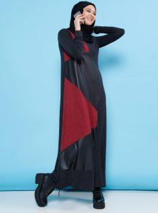 garnili-elbise-antrasit-bordo-benin-240555-1