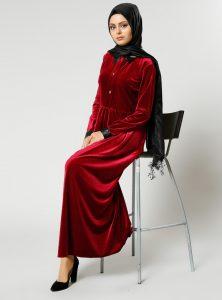 kadife-elbise-bordo-refka-239802-1
