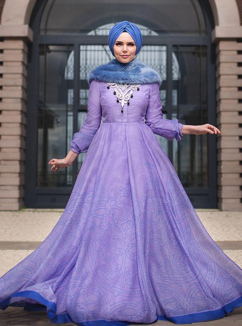 lila-elbise