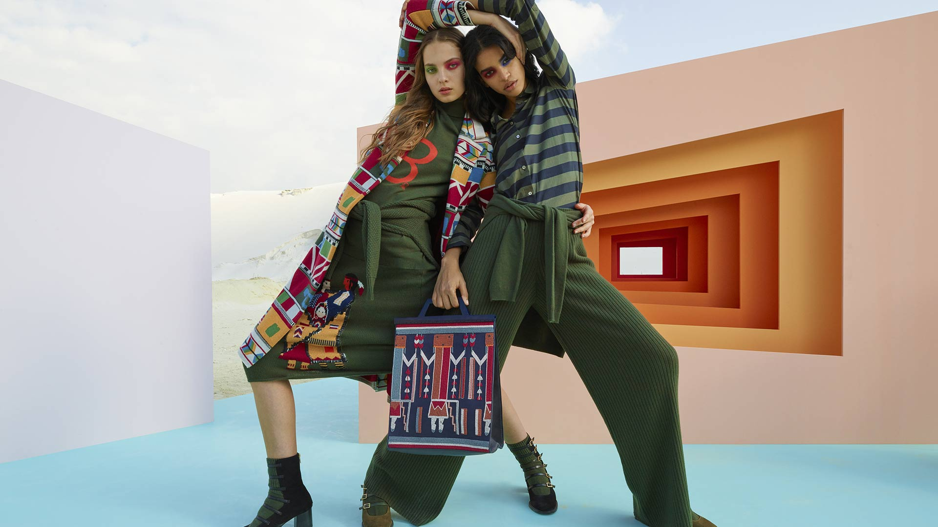 The Capsule Collection designed by Stella Jean benetton fw   STELLA JEAN