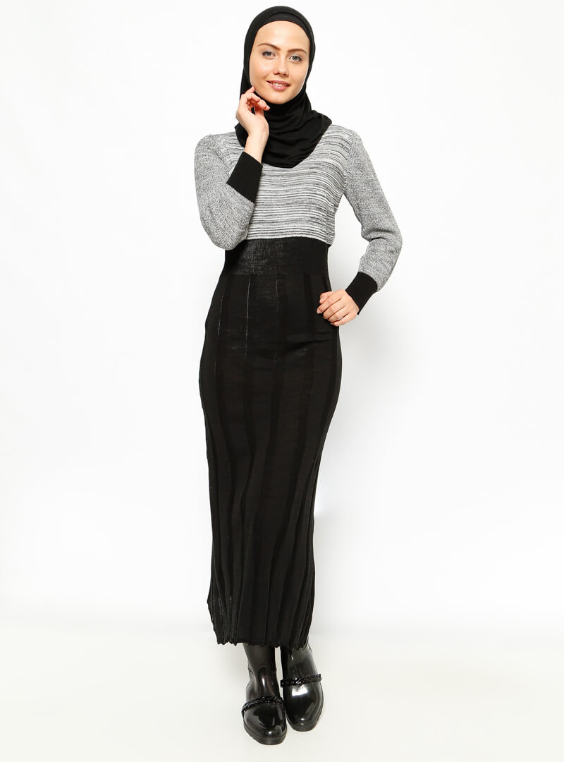 vucut-tipine-gore-triko-elbise-secimi-armut