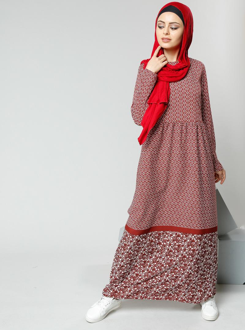 bordo-elbise