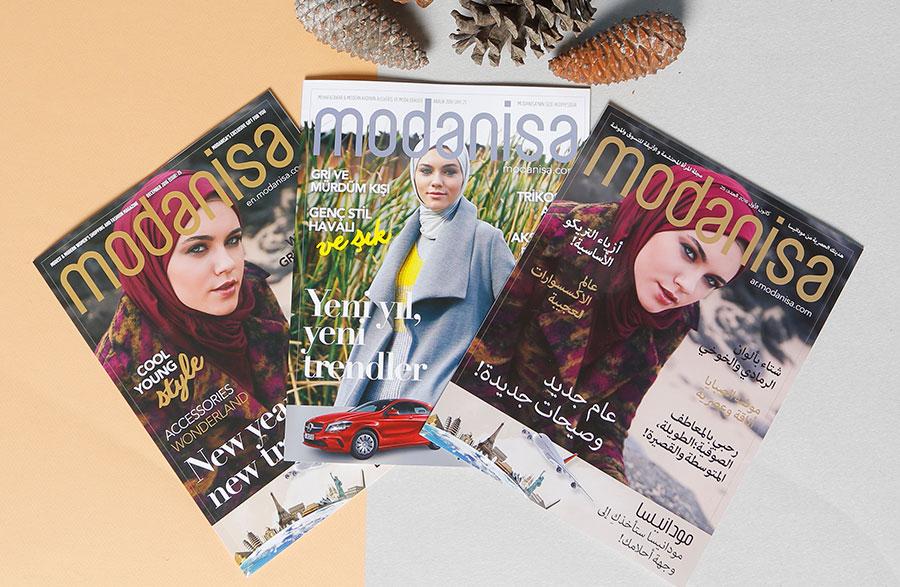 Modanisa Dergi ile Yeni Bir Yıl, Yeni Trendler!