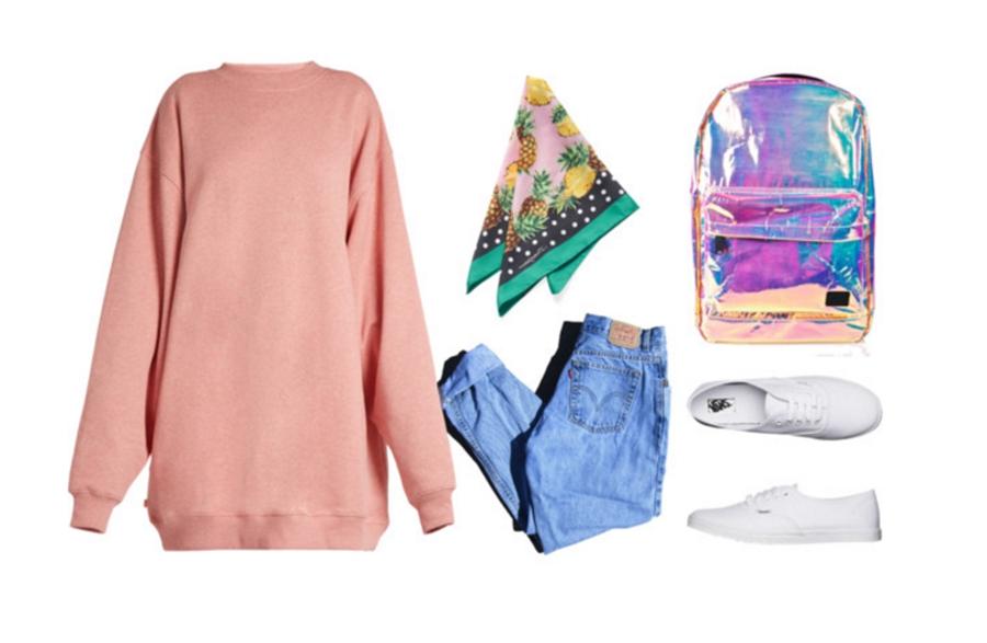 Günlük Tesettür Giyim Kombinleri