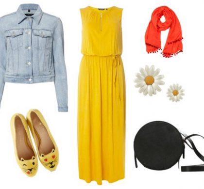 Baharlık Tesettür Giyim Kombinleri