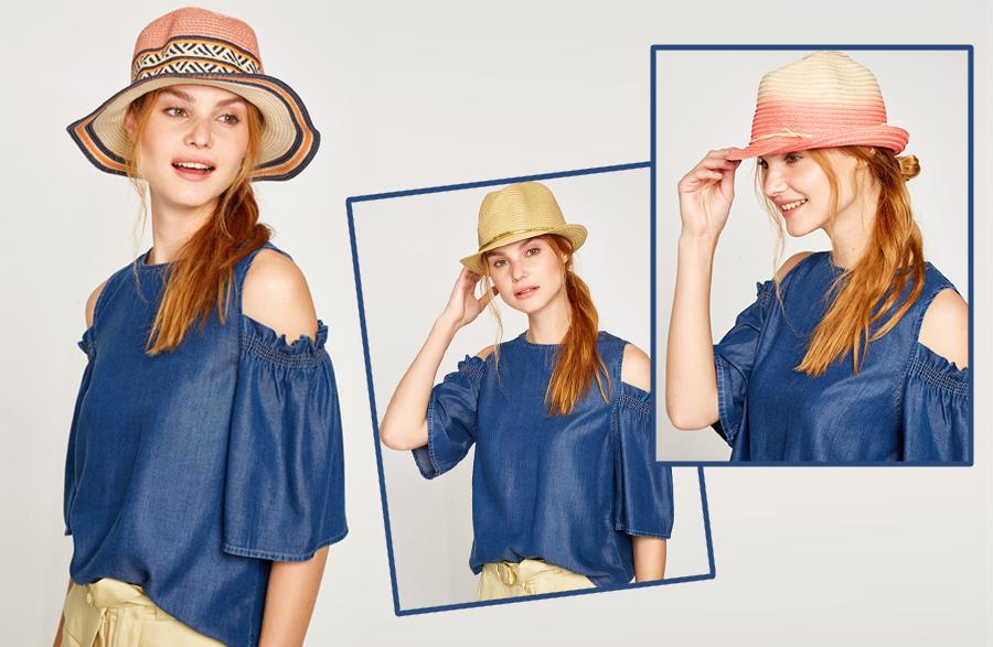 En Tarz Hasır Şapka Modelleri