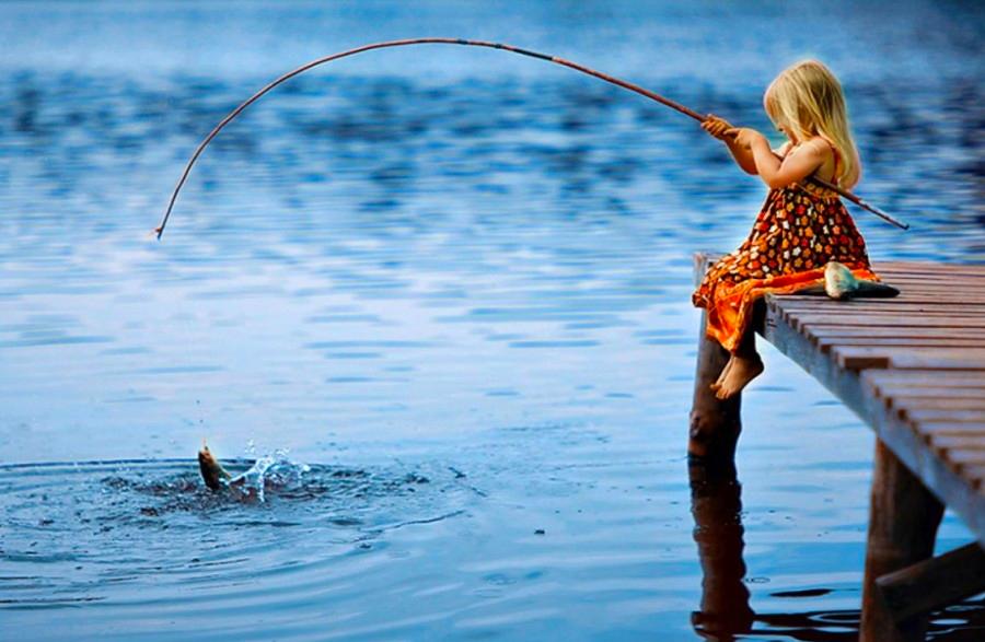 Huzur veren bir etkinlik: Balık tutmak!