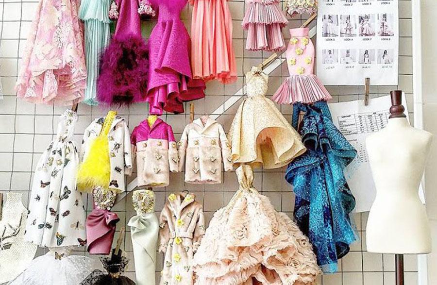 Minyatür Elbise Sanatı