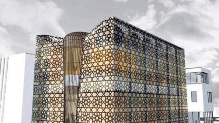 Bu Cami Elektriğini Minaresinde Üretecek