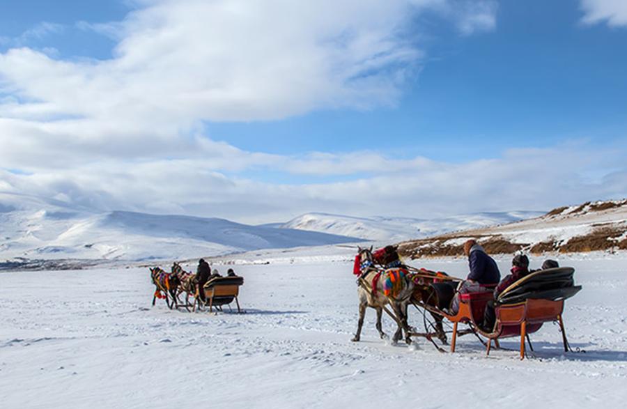 Kars'a Yerli Turist Akımı