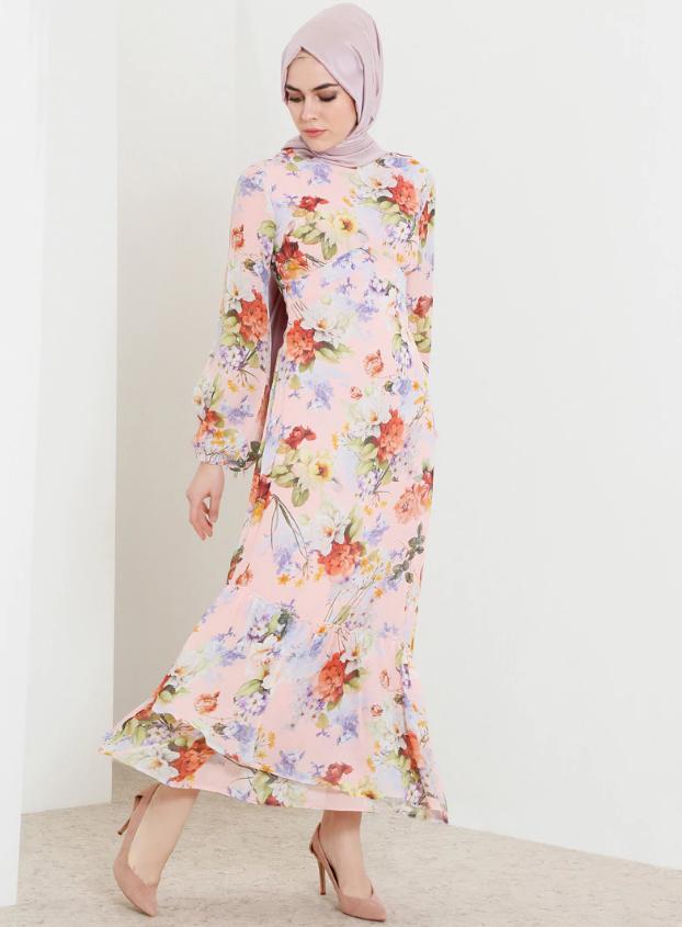 refka-çiçekli-elbise
