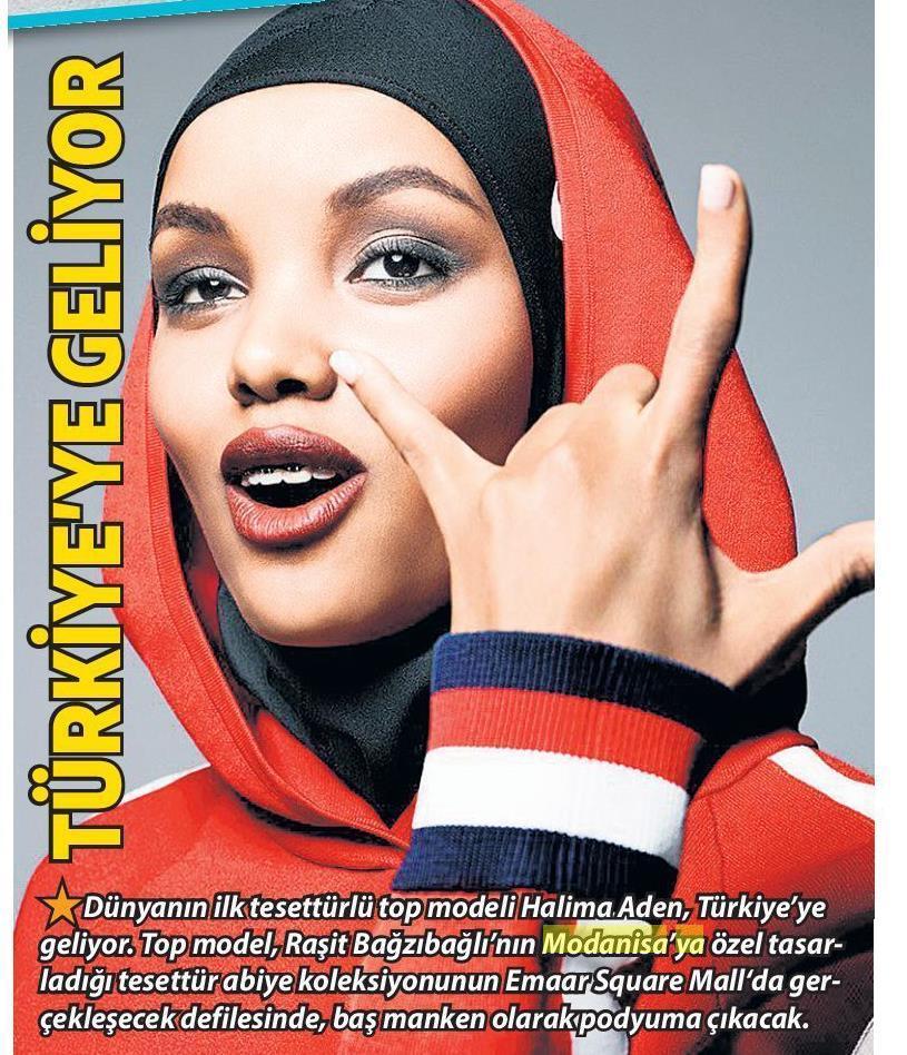 Halima Aden, Modanisa, Tasarım, Tesettür Tasarım Koleksiyon, Raşit Bağzıbağlı