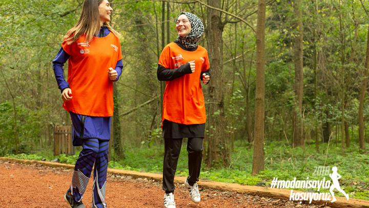 Modanisa Maratonda omurilik felçlileri için yürüyecek!