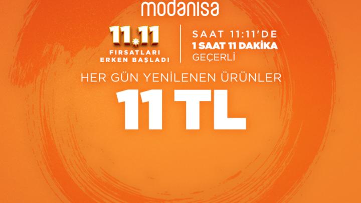 Modanisa'dan 11 TL Fırsatı!