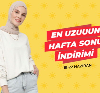 "Modanisa'dan ""En Uzun Hafta Sonu"" indirimi"
